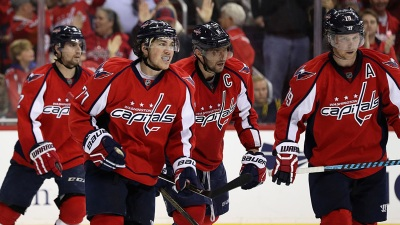 Capitals Beat Penguins 4-3 in Overtime