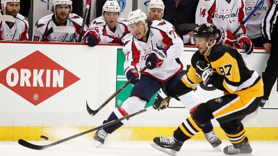 Hornqvist Scores in OT, Penguins Beat Capitals 3-2
