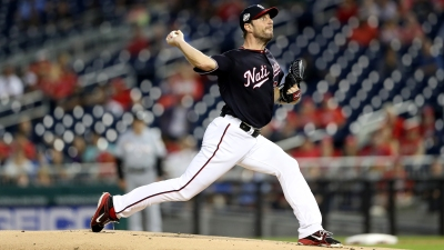Nats' Scherzer Reaches 300 Strikeouts for the Season