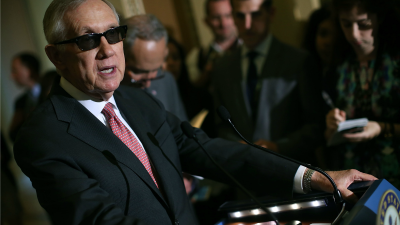 Sen. Reid Denounces Redskins' Name -- and Owner
