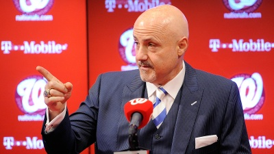Nats Extend Contract With GM Mike Rizzo