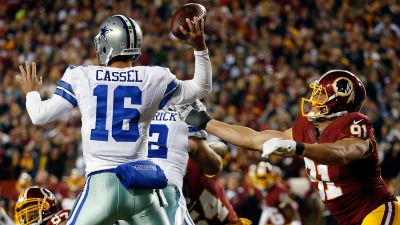 Redskins Among NFL's Worst at Sacking QBs