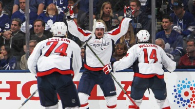 Johansson's OT Goal Gives Capitals Series Win at Toronto