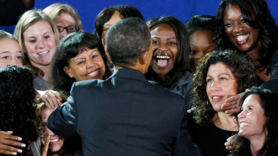 Women Fueling Obama in Virginia