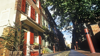 A Street Named Elfreth's Alley