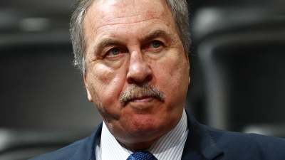 Wizards Fire Team President Ernie Grunfeld