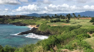 Small Island of Kauai Dotted With Spectacular Golf Courses