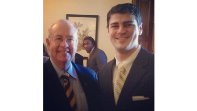 Robert Griffin III Photobombs Ken Starr