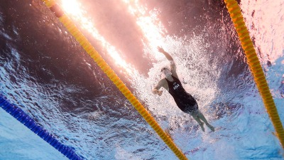 Ledecky Drops Out of World Championship Races Due to Illness