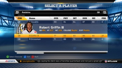 Watch RGIII, Andrew Luck Face Off - in a Game