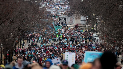 Thousands Rally, March to Court, Capitol in March for Life