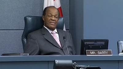 D.C. Council Votes to Censure Marion Barry