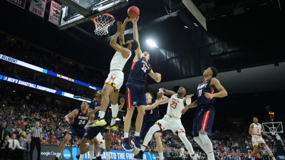 Maryland Hangs on For 79-77 First Round Win Over Belmont