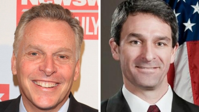 McAuliffe Continues Slight Lead in Va. Gov. Race