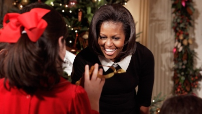 White House Christmas Decor Honors Military