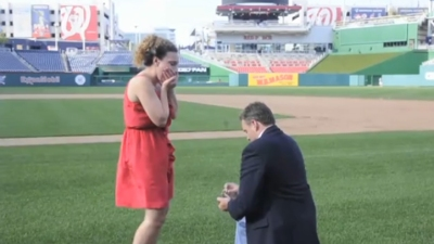 The Right Way to Propose at Nats Park