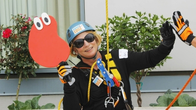 Rappelling for a Cause in Baltimore