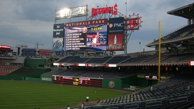 Gov. Workers Can Score Nats Ticket Deals for Earth Day