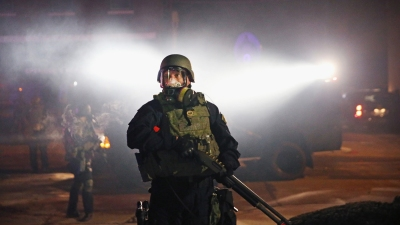 Sherwood's Notebook: Militarized Policing Takes a Hit