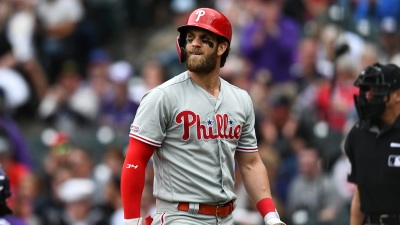 Nats Visit Their Old Friend Bryce Harper in Philly