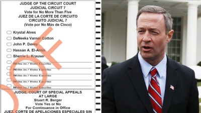 Fewer Than 20 Got Incomplete Ballots, O'Malley Says