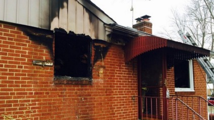 Bystanders Rescue 2 From Burning Home in Md.