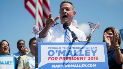 O'Malley Announces Plans for Presidency