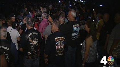 Rolling Thunder Vets Begin Memorial Day Weekend With Vigil