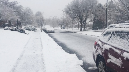 Snow Continues to Fall Across Area; Could Affect Commute