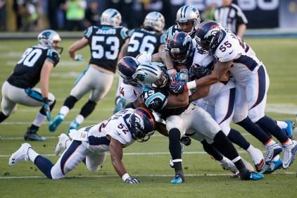 #SB50: Broncos Lead Panthers 16-7