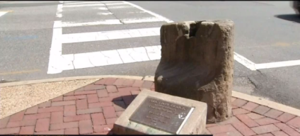 Fredericksburg's Slave Auction Block to be Removed