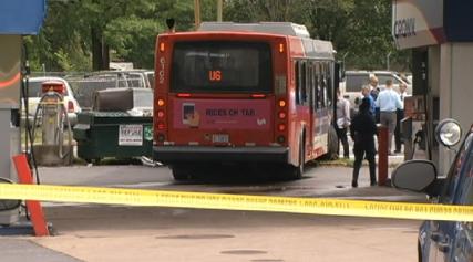 Man Hijacks Metrobus, Fatally Hits Gas Station Employee