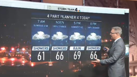 <p>Storm Team4 Meteorologist Chuck Bell has the forecast for Sept. 24, 2018.</p>