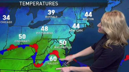 <p>Storm Team4 meteorologist Lauruyn Ricketts has your forecast for Feb. 24, 2018.</p>
