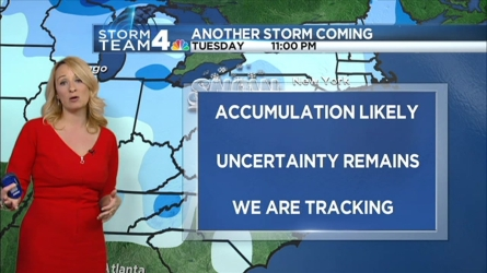 Storm Team4's Lauryn Ricketts has your forecast.