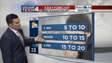Storm Team4 Chief Meteorologist Doug Kammerer has the forecast for Feb. 9, 2016.