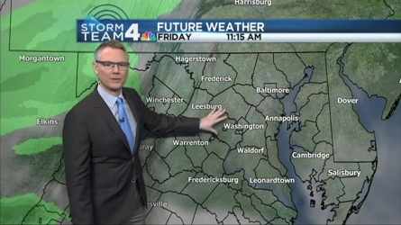 Storm Team4 Meteorologist Chuck Bell has the forecast for Feb. 12, 2016.