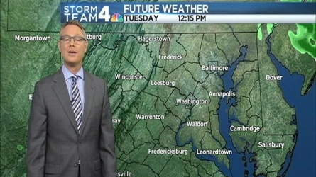 News4 Meteorologist Chuck Bell has the forecast for May 24, 2016.