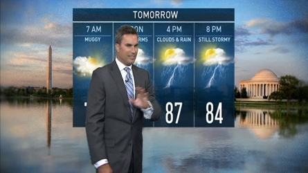 Storm Team4 Chief Meteorologist Doug Kammerer has the forecast for July 29, 2016.
