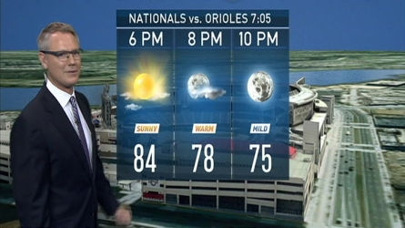Storm Team4's Chuck Bell has the forecast for Aug. 24, 2016.