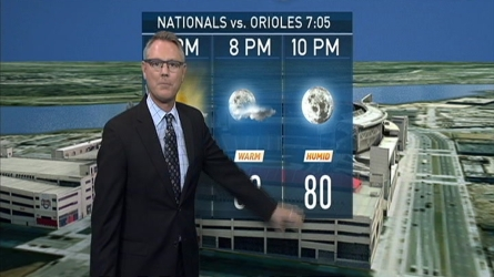 Storm Team4's Chuck Bell has the forecast for Aug. 25, 2016.