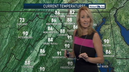 Storm Team 4 Meteorologist Lauryn Ricketts has the forecast for Aug. 26, 2016.