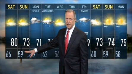 A cooler pattern will move in Saturday and will be in place for the next 10 days. Storm Team4's Tom Kierein has the forecast.