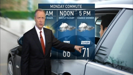 Cooler temperatures expected this week with rain on the way.