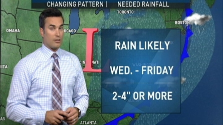 Storm Team4's Chief Meteorologist Doug Kammerer has the forecast for Tuesday evening and the rest of the week.