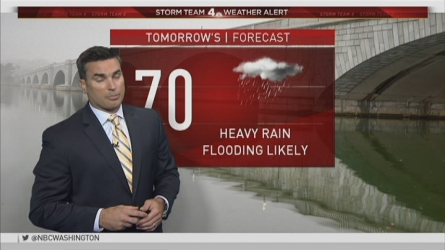 Storm Team4 Chief Meteorologist Doug Kammerer explains heavy rain is bringing the threat of flash flooding to our region Wednesday night and more heavy rain will continue on Thursday.