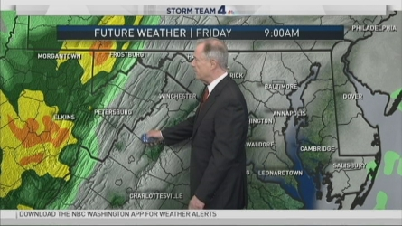 Join NBC4's Meteorologist Tom Kierein for your midday weather update to find out when temperatures will start to go back down.