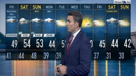 Storm Team4 Chief Meteorologist Doug Kammerer breaks down how much rain we can expect in the D.C. area in the coming days.
