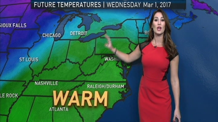 <p>Storm Team4 Meteorologist Sheena Parveen has the forecast for Feb. 23, 2017.</p>
