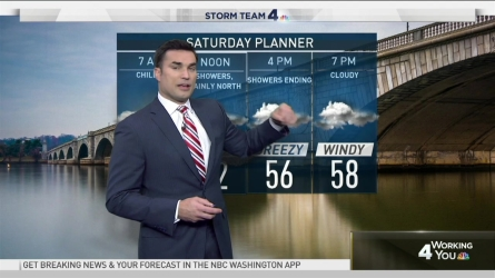 <p>Storm Team4 Chief Meteorologist Doug Kammerer is tracking rain and cold weather.</p>